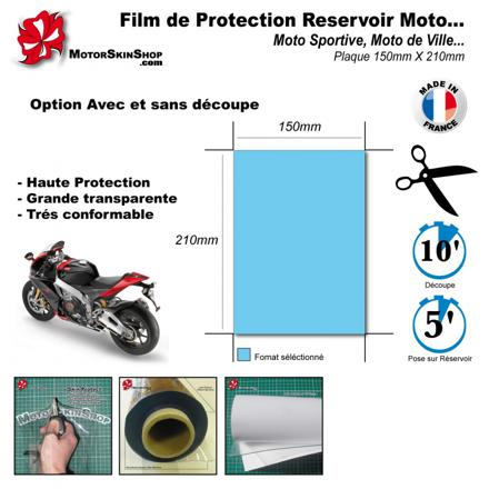 film de protection moto
