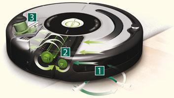 fonctionnement de l aspirateur robot