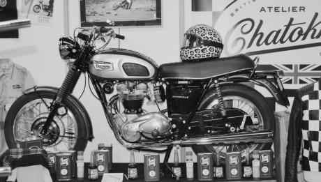 fond d'écran moto vintage