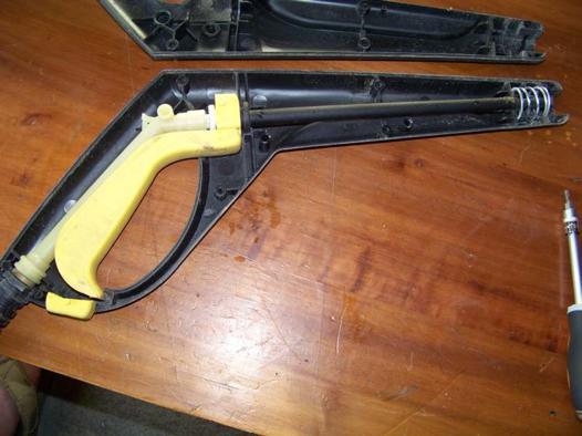 fuite pistolet karcher