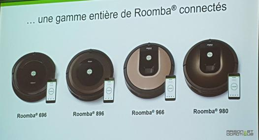 gamme roomba