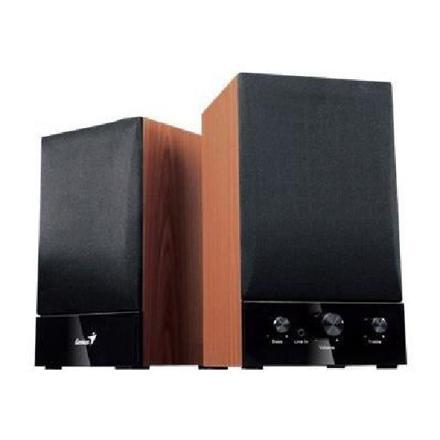 genius haut-parleur sp-hf1250b 2.0 40w rms
