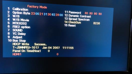 hdmi pc tv pas de signal