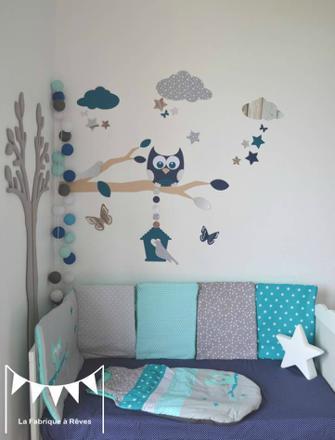hibou chambre bébé
