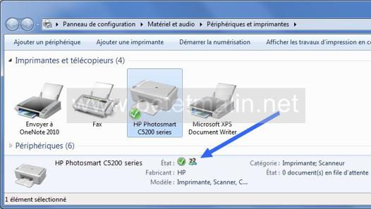 imprimante windows 7