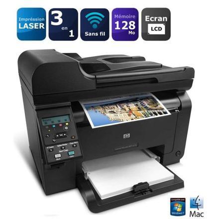 imprimantes multifonction laser