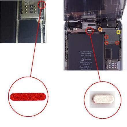 indicateur eau iphone 6