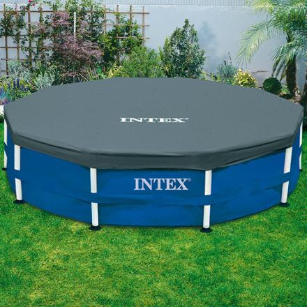 intex bache piscine