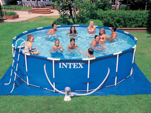 intex metal frame