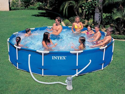 intex piscine tubulaire ronde