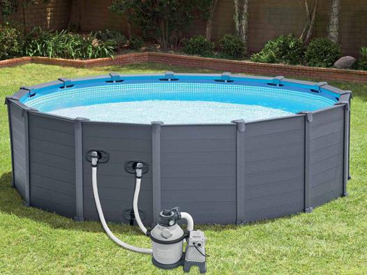 intex piscine tubulaire
