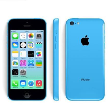 iphone 5c bleu neuf