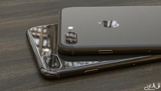 iphone 7 noir brillant