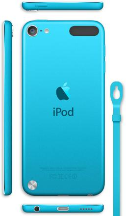 ipod bleu