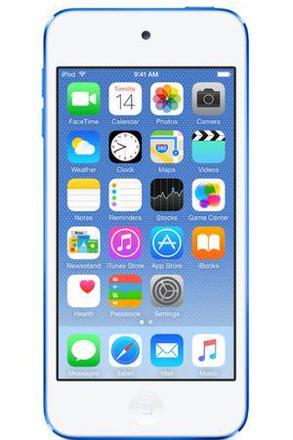 ipod touch 6 bleu