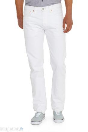 jeans blanc homme levis