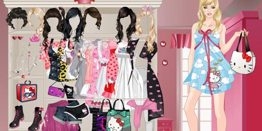 jeu d'habillage de mode