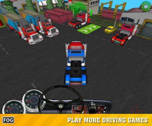 jeux de camion en 3d
