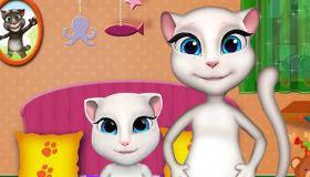 jeux de chat pour fille