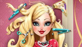 jeux de coiffure de fille