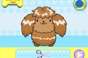 jeux de coiffure pour chien