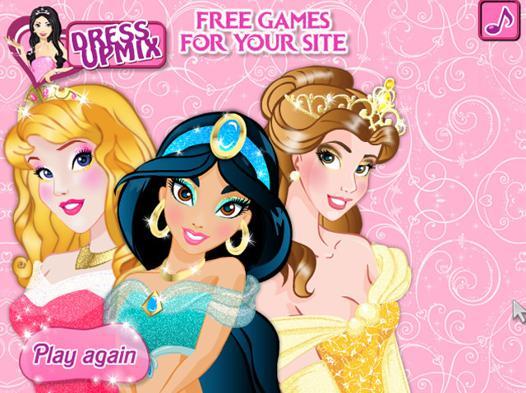 jeux de princesse maquillage