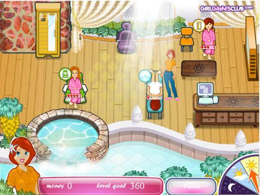 jeux de spa gratuit
