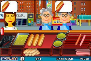 jeux de vendeur de hot dog