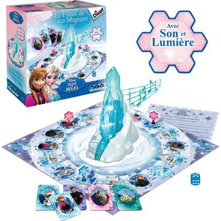 jeux enfant reine des neiges