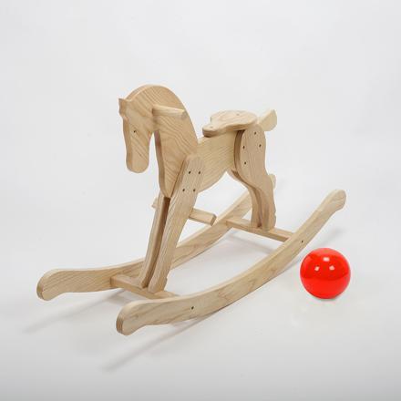 jouet à bascule en bois