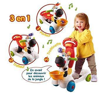 jouet zebre 3 en 1