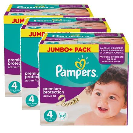 jumbo pack pampers taille 4