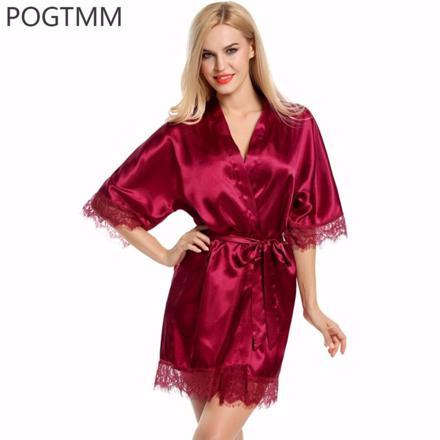 kimono femme satin