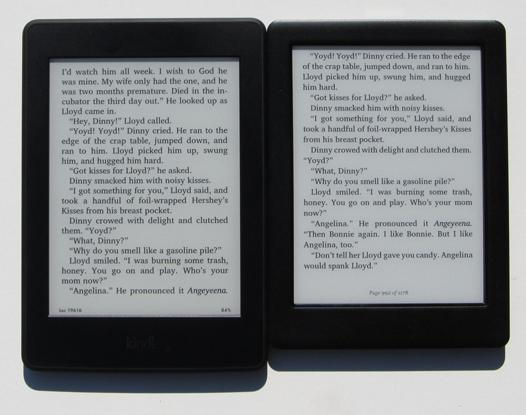 kindle paperwhite ebook