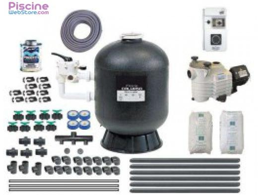 kit de filtration piscine