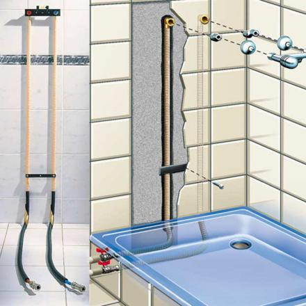 kit de raccordement douche