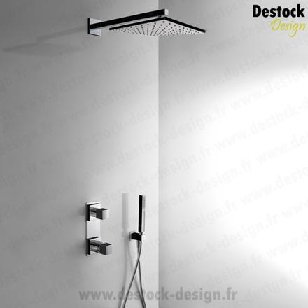 kit douche thermostatique encastrable