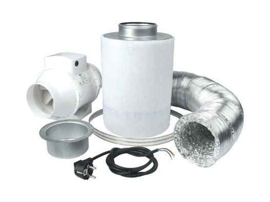 kit extracteur d air et filtre a charbon