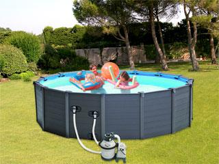 kit filtration piscine hors sol intex