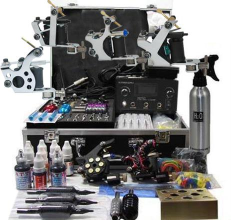 kit machine tatouage
