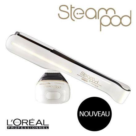 l oreal steampod 2.0 lisseur vapeur blanc