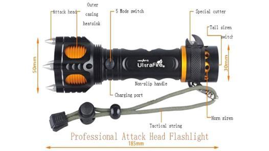 lampe anti agression