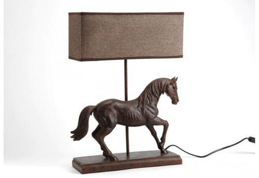 lampe de chevet cheval