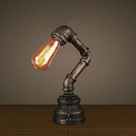 lampe de chevet industriel