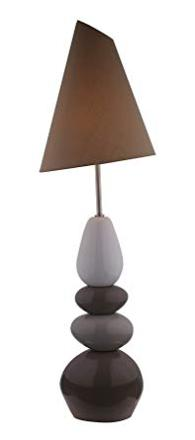 lampe de sol galet