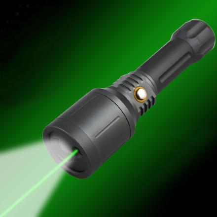 lampe torche laser puissante