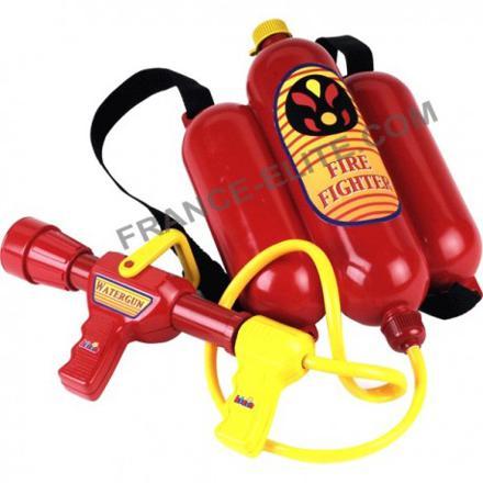 lance incendie pompier jouet