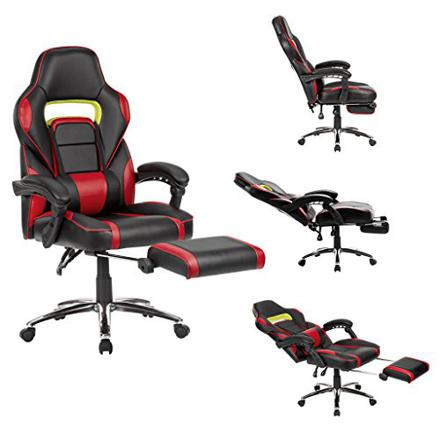 langria fauteuil de bureau racing pour gaming