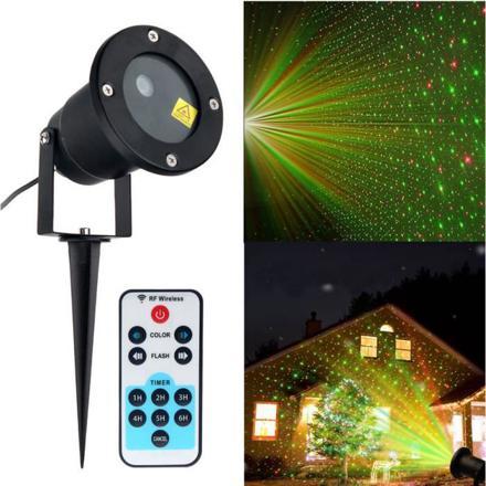 laser projecteur noel
