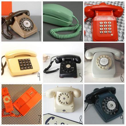 le telephone vintage